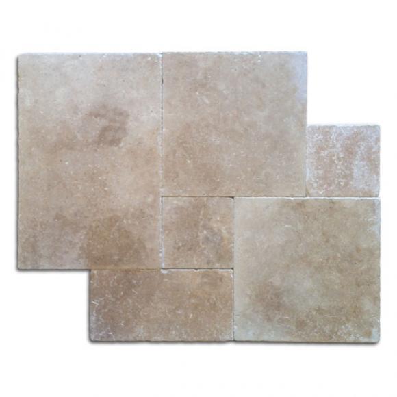 French-Pattern-Roman-Blend-Walnut-Select-Tumbled-Travertine-Paver