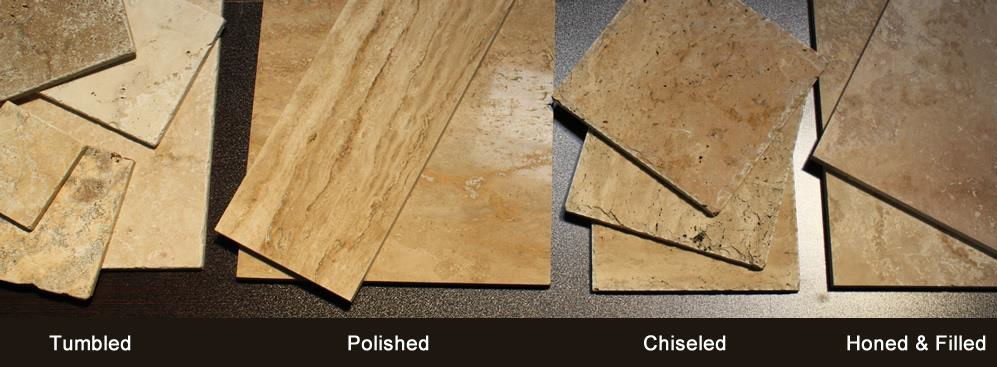 What Kind Of Finish Does Travertine Come In